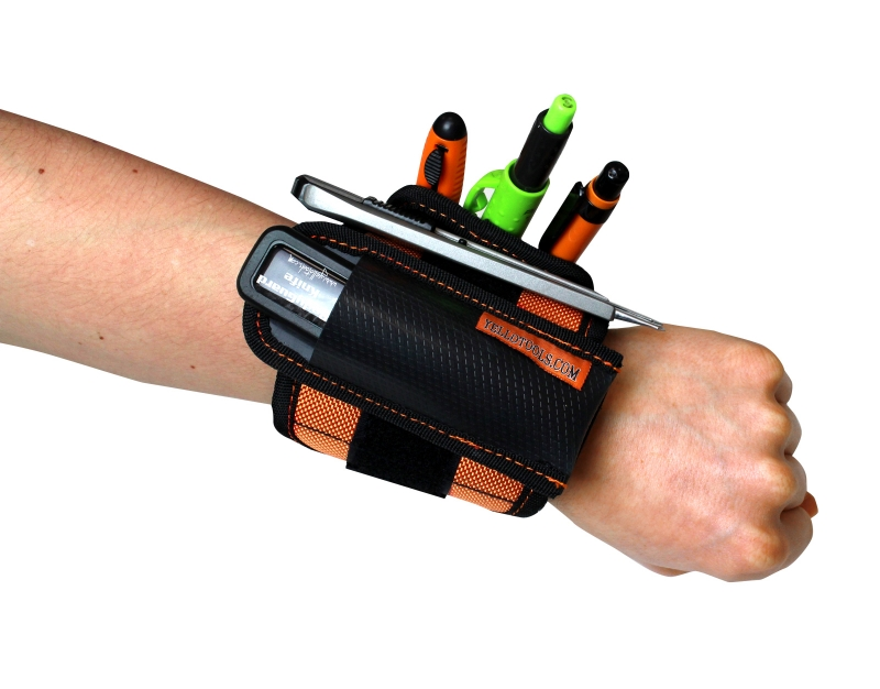 YelloStrap cu 2 accesorii (YelloGear Quiver + YelloGear TriplePouch) - fixat pe mana